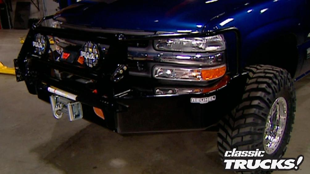 Sinister Silverado Gets All Purpose Bumpers