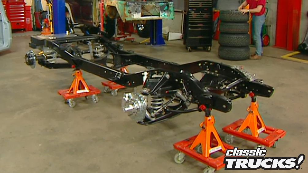 Project Copperhead: 1967 Chevy C10 Suspension Part 2