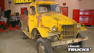 Turning A 1941 Dodge Army Truck into Sergeant Rock