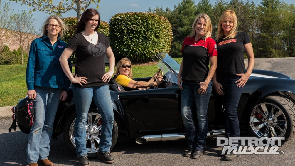 427 Cobra Replica: All Girls Build