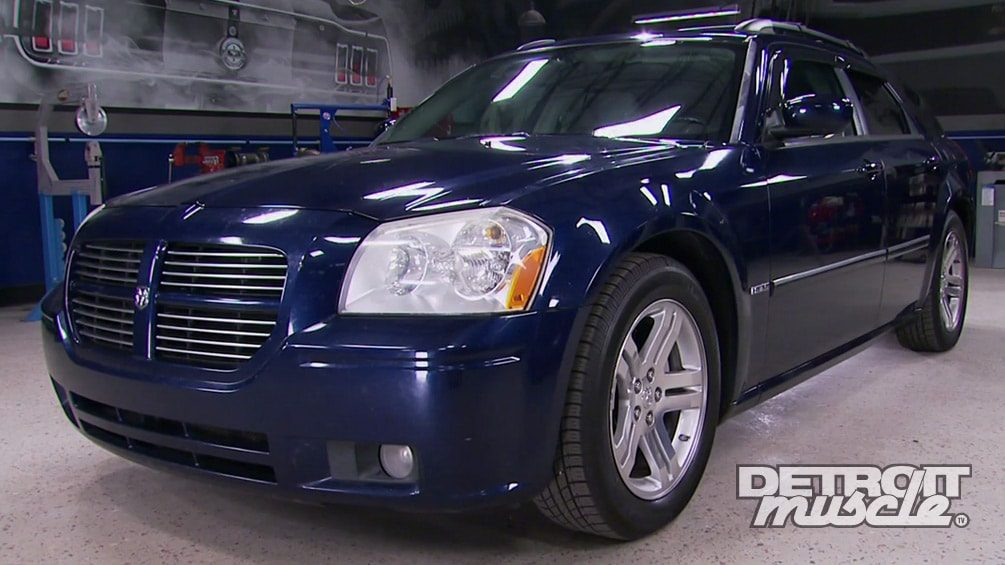 Converting a Dodge Magnum Grocery Getter to Supercharged Grocery Gladiator