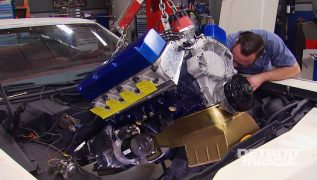 Putting A 1,100 HP Big Block Into A '72 Mercury Marquis