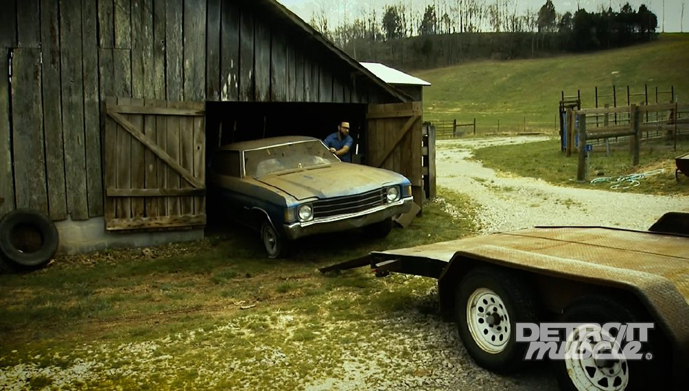 Barn Find: 1972 Chevy Chevelle Malibu