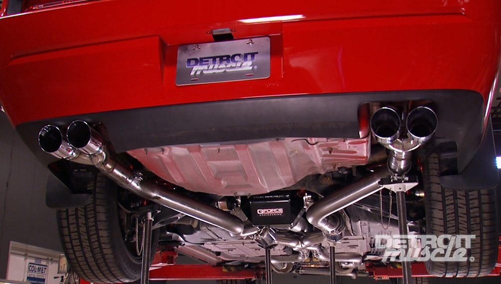 Custom Performance Exhaust for the 2010 Challenger SRT8