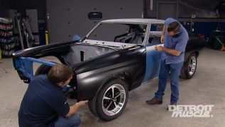 Fitting New Body Panels On A Classic Chevelle