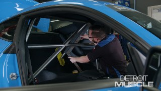 Powerstop Ultimate Mustang Roll Cage and Interior