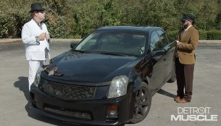Souped Up Cadillac CTS-V Goes for A Spin