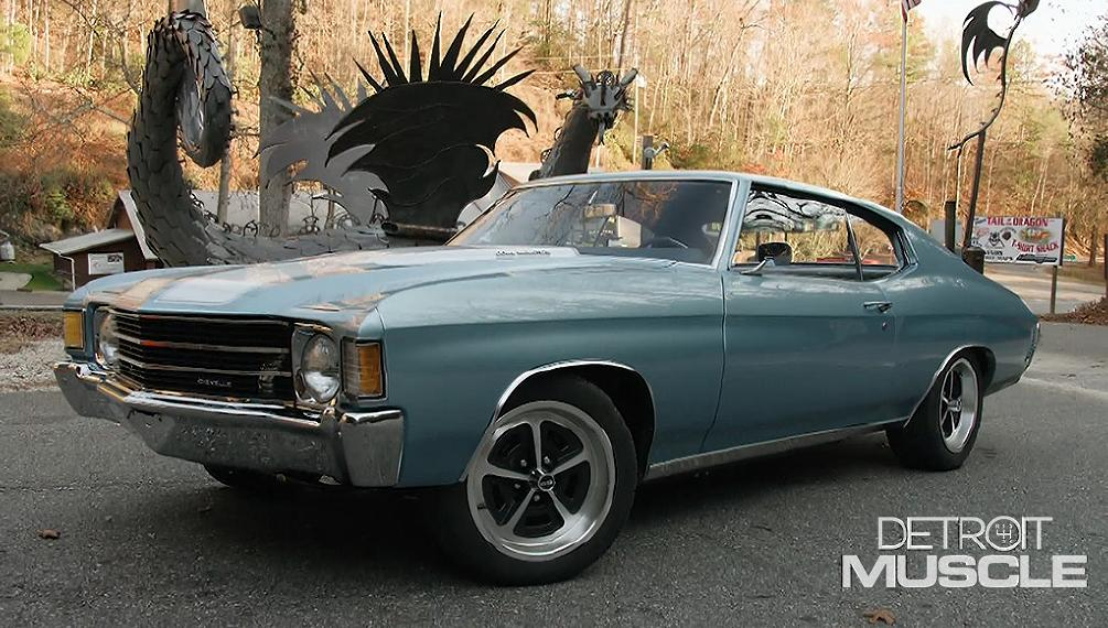 Barn Find Chevelle Stretches Its Legs On the Tail of the Dragon