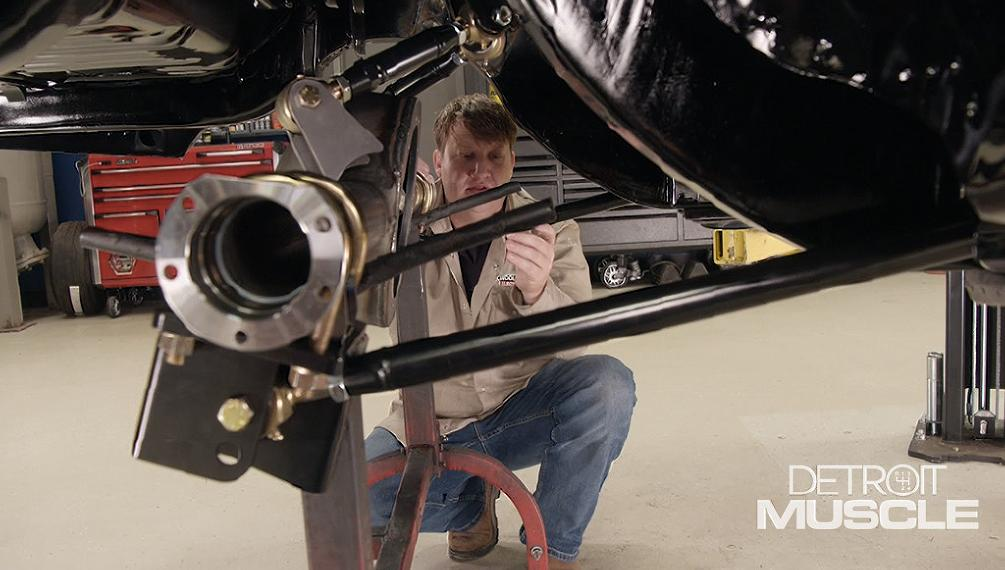 1969 Dodge Charger Gets a New Rear Suspension