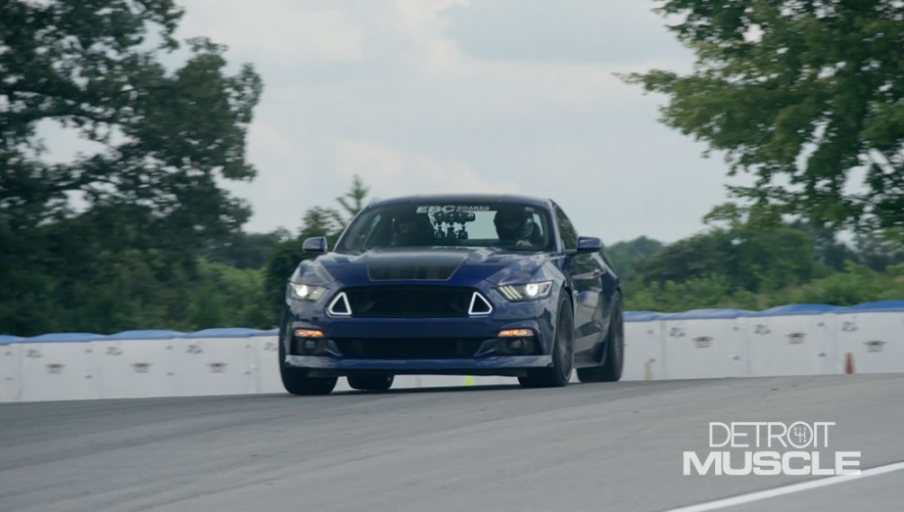 EBC Mustang Gets a New Suspension, Wheels, and Tires