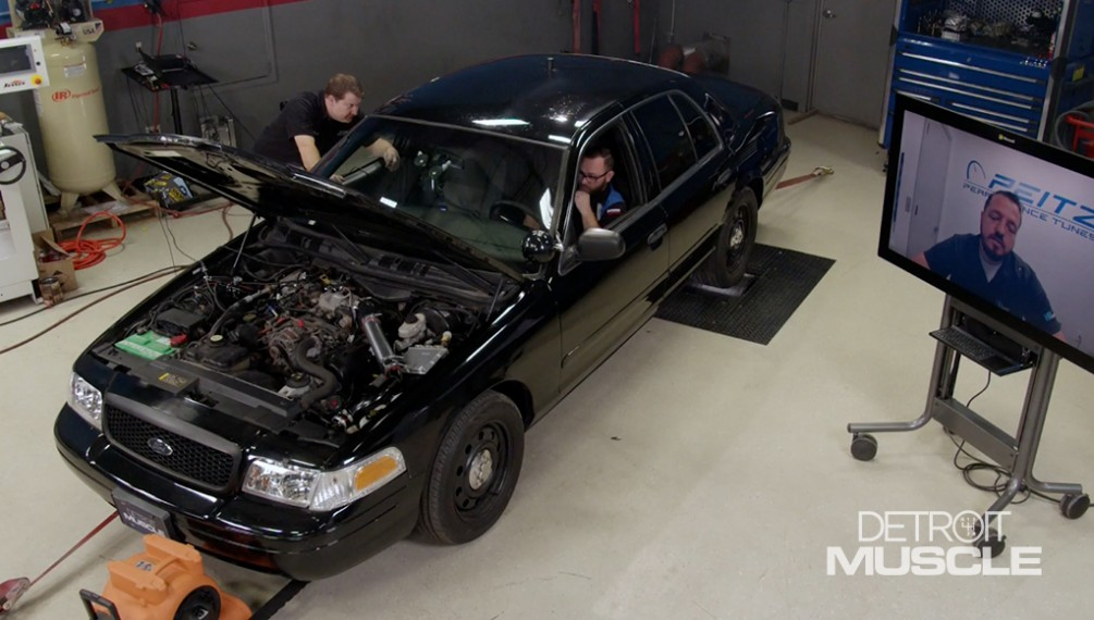 Boosting A Crown Vic Police Interceptor