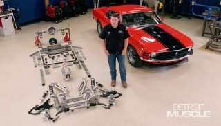 EBC Mustang Sweepstakes Project