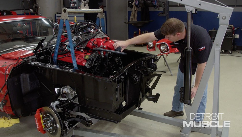 Dropping A Supercharged Coyote In The '70 RestoMod Mustang