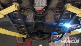 Refuerzo de carrocería y bastidor del Mustang Cobra del 81