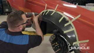 Instalación de los guardafangos de cuerpo ancho en el Foxbody Cobra