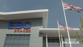 Detroit Muscle viaja a Inglaterra y visita las instalaciones de EBC Brakes
