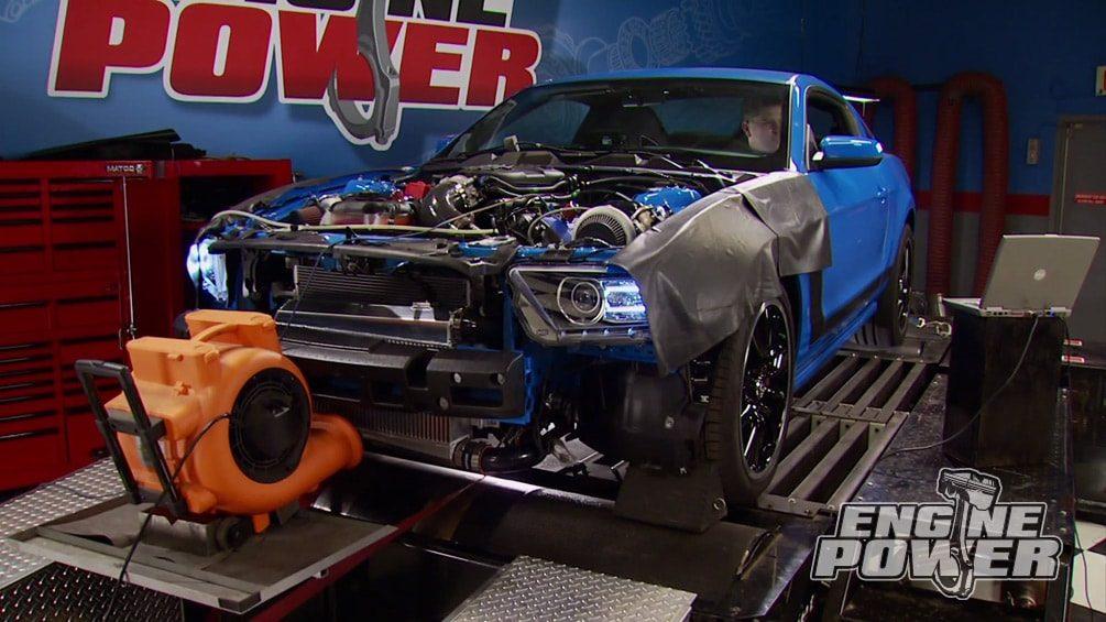 Twin Turbo Coyote : Engine Power