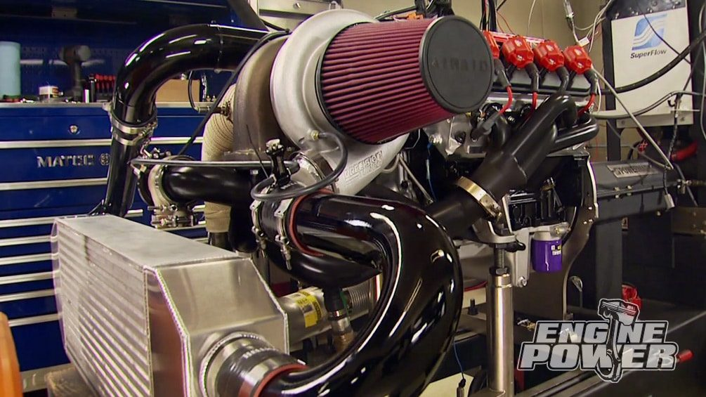Iron Animal 408: Wicked Turbo Power : Engine Power