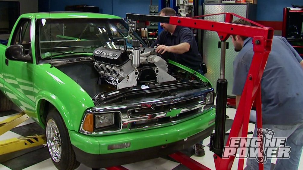 Lime Dime: 427 Big Block : Engine Power