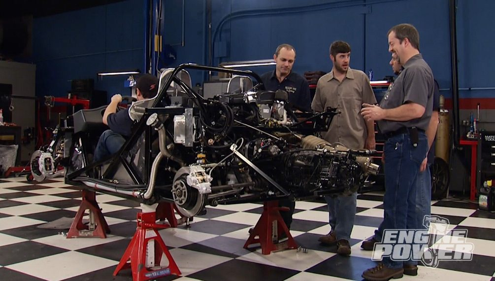 Mid-Engine Madness:  Building a Factory Five 818C