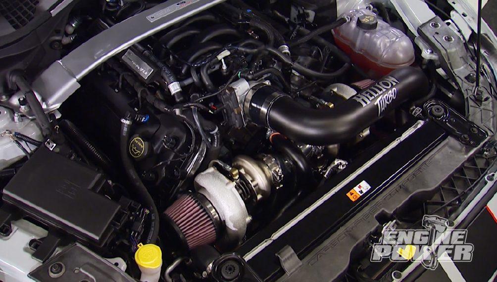 Twin Turbo GT350R Install
