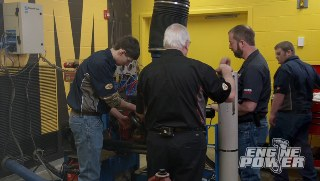 Tech School Engine Build Competition