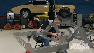 Camaro Custom Chassis Filled With Race Components