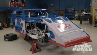 A Wicked Dirt Track Car with Hand-Built Chassis