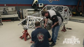 Building a Dyno Test Sled from a Race Car Chassis