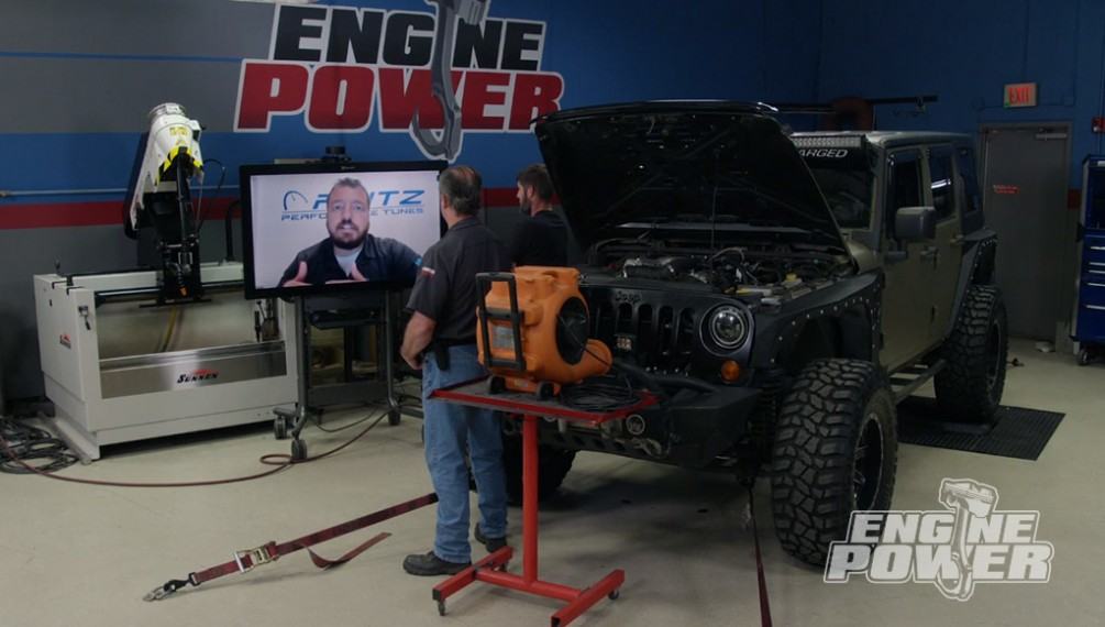 Supercharged Jeep Wrangler Makes Impress Power Gains on the Dyno