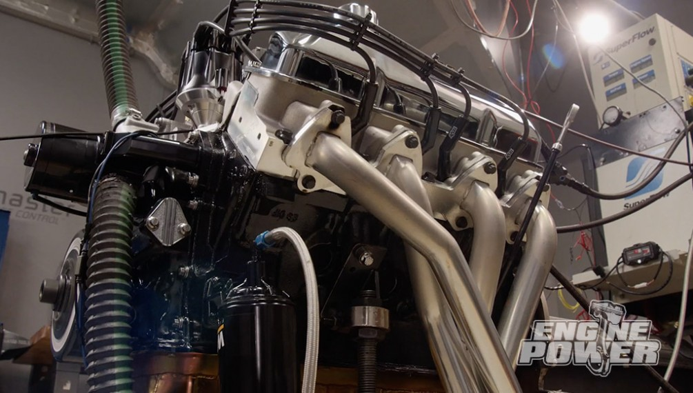 Junkyard Ford 445 FE Gets Modern EFI