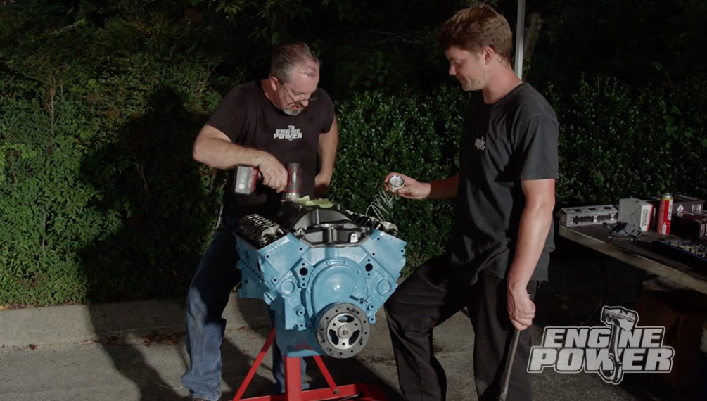 Backyard Engine Build