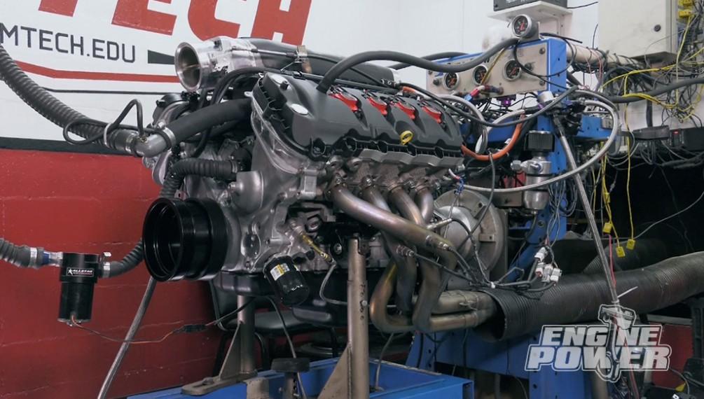 Construir un motor Coyote Supercargado para la Pista de Carreras.