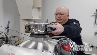 Jon Kaase construye un motor Ford de mas de mil cien caballos de fuerza