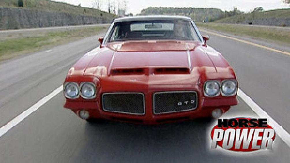A Muscle Car in the Air