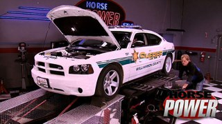 Hot Rod Cop Car