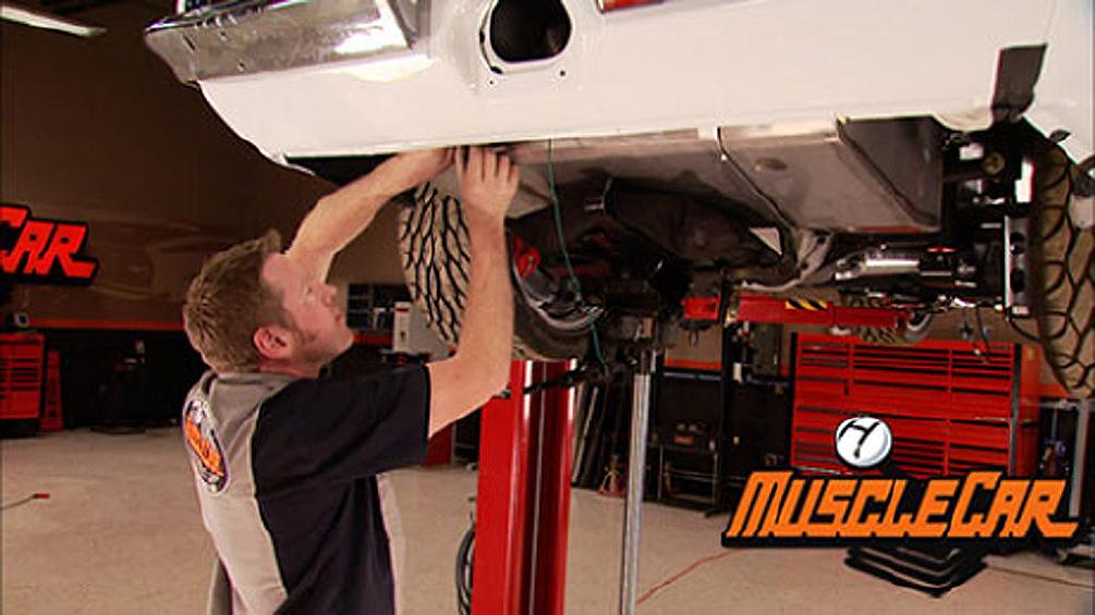 Trans Am Fuel and Red Sled Brake Plumbing
