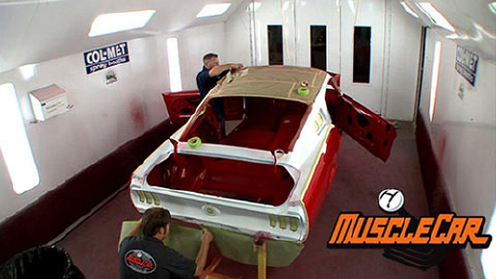 Edelbrock Mustang Track Car