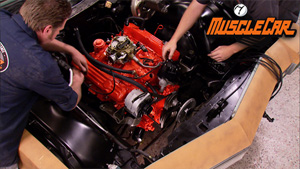Blue Collar Engine Compartment Makeover