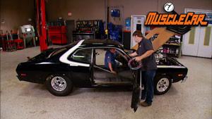 Pro Street Dodge Floor Prep & Wiring