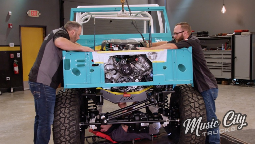 Adding Coyote Power to a Rebuilt Bronco