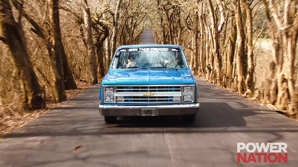 The Gorgeous 'Midnight Mistress' Is A 1985 Chevy C10