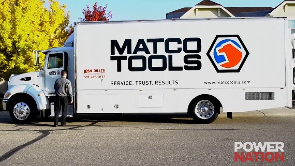 A Matco Truck Could Be Your New Office!