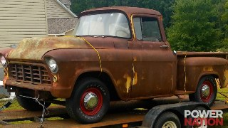 A '55 Chevy Pickup And Tahoe Chassis Swap You Want To See!