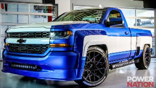 A Silverado Transformed Into A Muscle Truck!