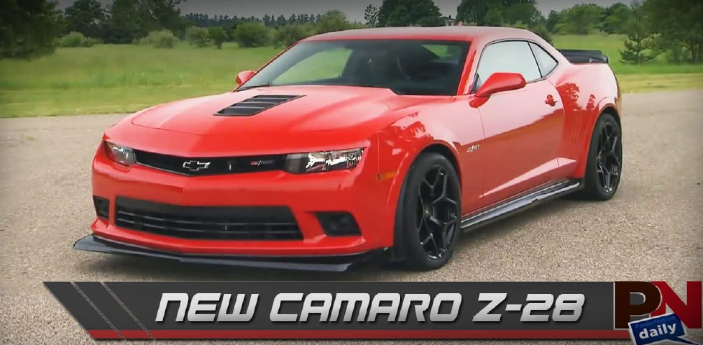 New Camaro Z28, NASCAR, And Fast Fails Friday
