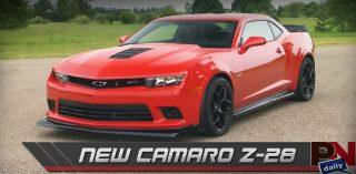 New Camaro Z28, NASCAR, And Fast Fails Friday