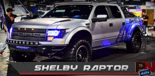 Shelby Raptor, LS7 To LS9 Conversion, & NASCAR