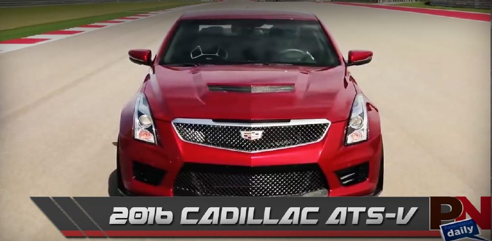 2016 Cadillac ATS-V, The Quadski, And NASCAR