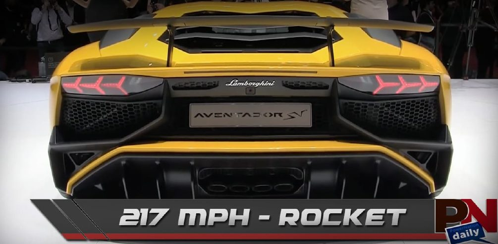 217 mph Lambo SV, Bigger Car=Safer, and Fast Fails Friday - PowerNation Daily